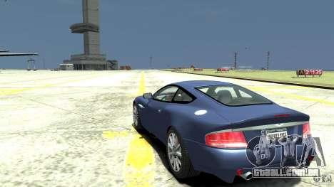 Aston Martin Vanquish S para GTA 4 traseira esquerda vista