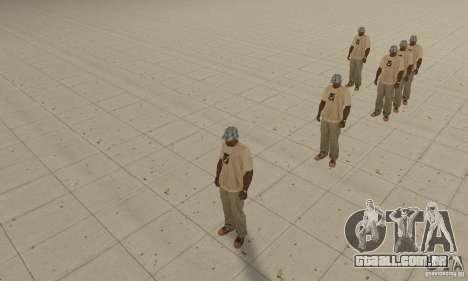 Um monte de CJ para GTA San Andreas segunda tela