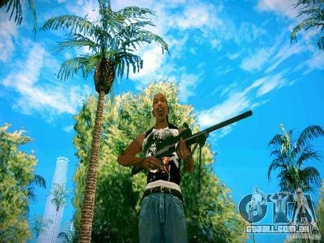 Armas Pack HD para GTA San Andreas segunda tela