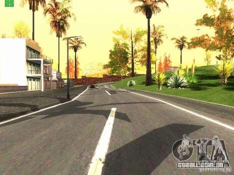 Roads Moscow para GTA San Andreas terceira tela
