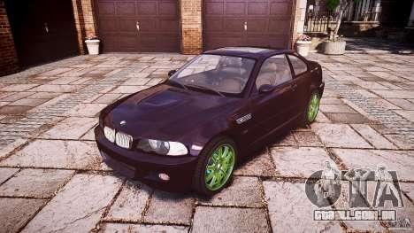 BMW M3 e46 2005 para GTA 4