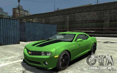 Chevrolet Camaro 2010 Synergy Edition v1.3 para GTA 4