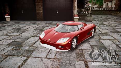 Koenigsegg CCX v1.1 para GTA 4 vista direita
