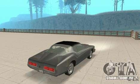Buick Riviera 1973 para GTA San Andreas esquerda vista