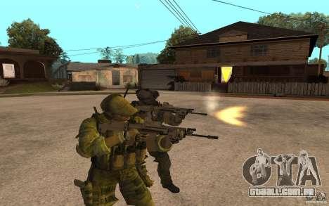 SCAR FN MK16 para GTA San Andreas segunda tela