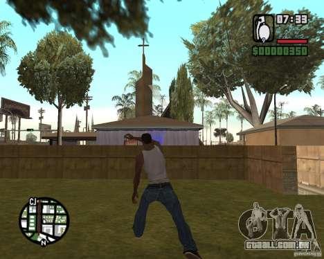 Ensopado de explosivo para GTA San Andreas terceira tela