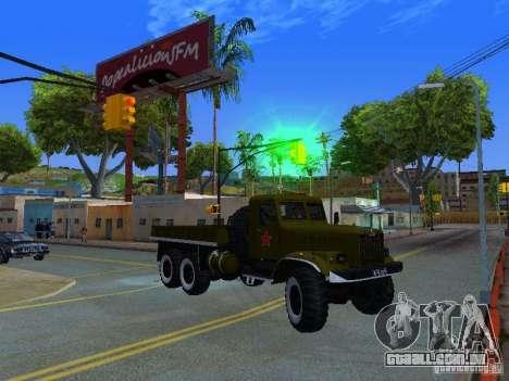 KrAZ caminhão Parade para GTA San Andreas