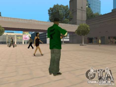 New Sweet para GTA San Andreas segunda tela