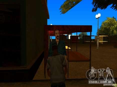 Corrigir animações faciais para GTA San Andreas por diante tela