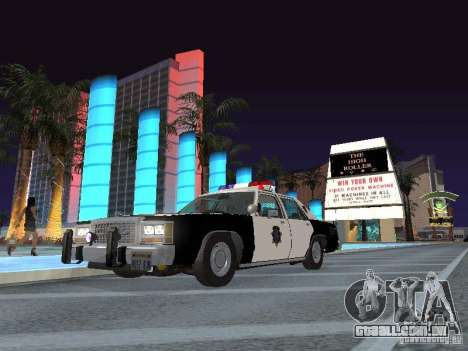 Ford LTD Crown Victoria Interceptor LAPD 1985 para GTA San Andreas