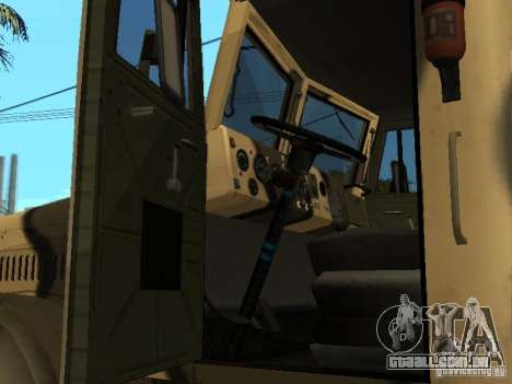 KrAZ 255 B1 v 2.0 para GTA San Andreas vista direita