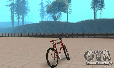 Chongs Mountain Bike para GTA San Andreas esquerda vista