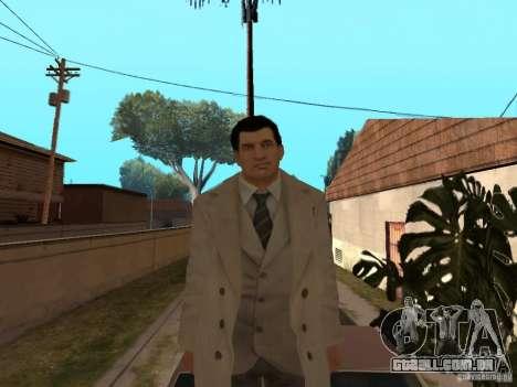 Joe Barbaro de Mafia 2 para GTA San Andreas quinto tela