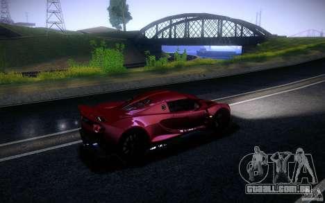 Hennessey Venom GT 2010 V1.0 para GTA San Andreas esquerda vista
