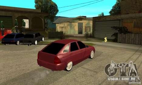 VAZ Lada Priora 2172 LT para GTA San Andreas