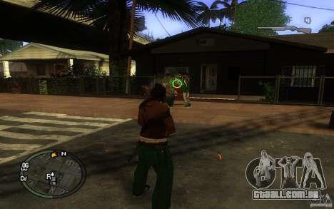 Vista v1 para GTA San Andreas terceira tela