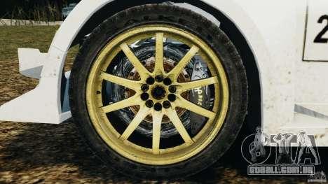 Colin McRae OGIO Rallycross para GTA 4 vista de volta