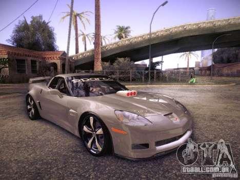 Chevrolet Corvette C6 Z06 Tuning para GTA San Andreas