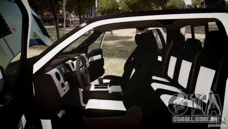 Ford F150 SVT Raptor 2011 UNSC para GTA 4 vista lateral
