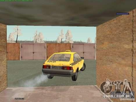 AZLK Moskvich 2141 táxi v2 para o motor de GTA San Andreas