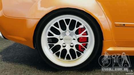 Audi RS4 EmreAKIN Edition para GTA 4 vista superior