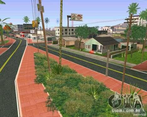 Novas texturas de Los Santos para GTA San Andreas sétima tela
