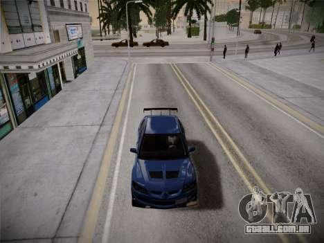 ENBSeries by Treavor V2 White edition para GTA San Andreas por diante tela