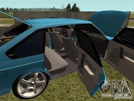 Moskvich 2141 para GTA San Andreas vista superior