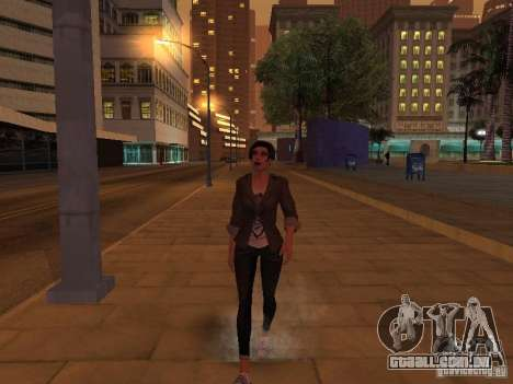 Black Stallion Peds para GTA San Andreas quinto tela