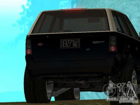 Huntley no GTA IV para GTA San Andreas vista direita