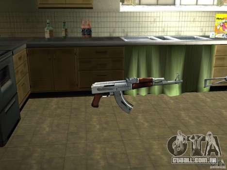 Pak versão doméstica de armas 3 para GTA San Andreas segunda tela