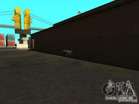 Renovação da base militar nas docas para GTA San Andreas sétima tela
