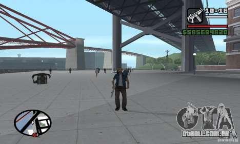 Reencarnação em um morador da cidade para GTA San Andreas sexta tela