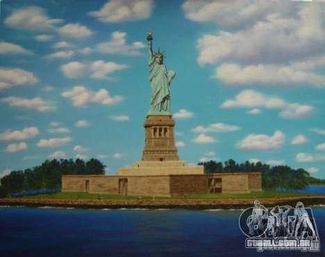 A estátua da liberdade para GTA San Andreas terceira tela