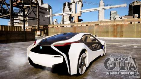 BMW Vision Efficient Dynamics 2012 para GTA 4 esquerda vista
