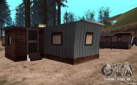 Nova cidade de reboque para GTA San Andreas por diante tela