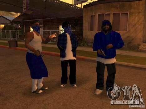 Crips Gang para GTA San Andreas