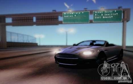 CreatorCreatureSpores Graphics Enhancement para GTA San Andreas por diante tela