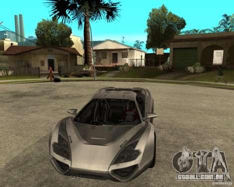 Nemixis para GTA San Andreas vista traseira