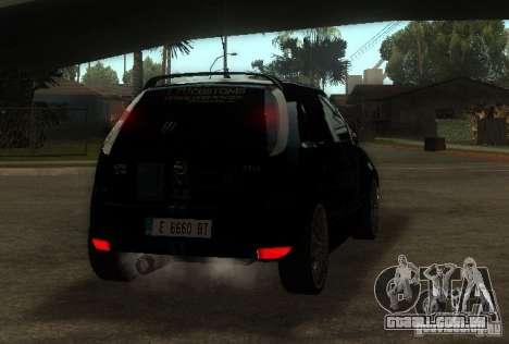 Opel Corsa GSI Rally para GTA San Andreas traseira esquerda vista