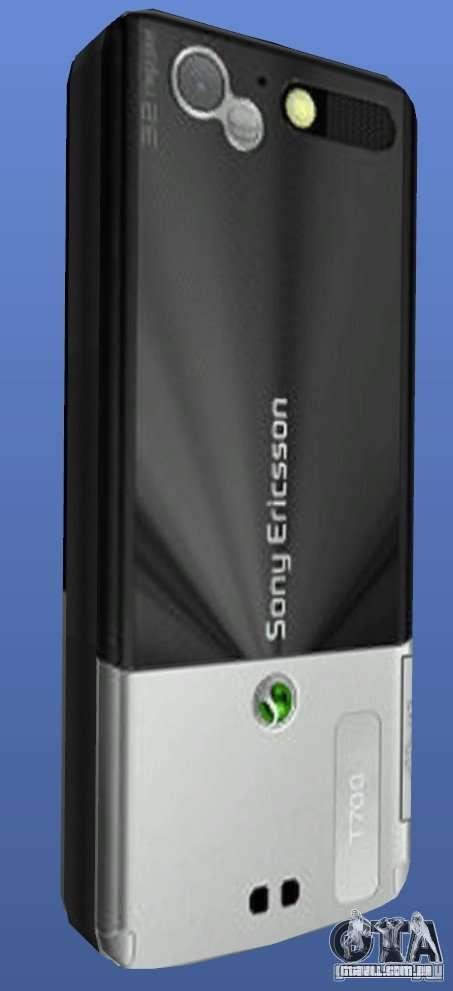 Celular Sony Ericsson T700 para GTA 4 segundo screenshot