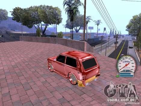 VAZ 21213 para GTA San Andreas vista traseira