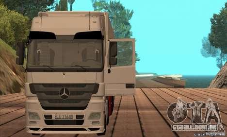 Mercedes-Benz Actros MP3 para GTA San Andreas traseira esquerda vista