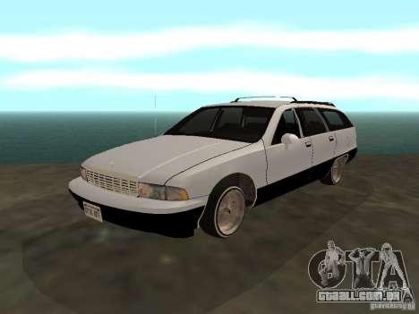 Chevrolet Caprice Wagon 1992 para GTA San Andreas