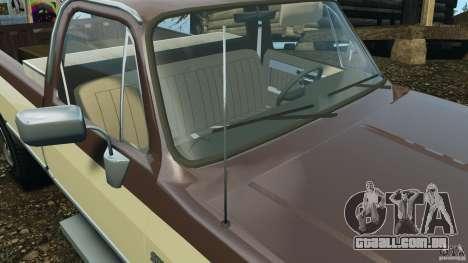 Chevrolet Silverado 1986 para GTA 4 motor