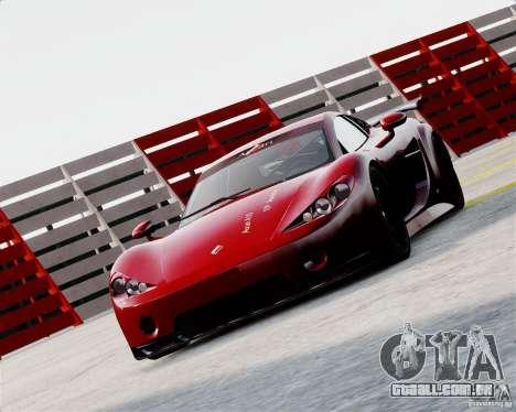 Ascari A10 2007 v2.0 para GTA 4 esquerda vista