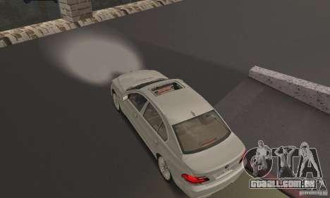 Faróis brancos brilhantes para GTA San Andreas segunda tela