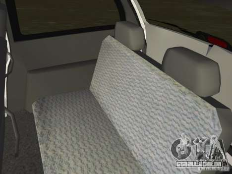 Dodge Grand Caravan para GTA Vice City vista interior