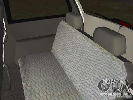 Dodge Grand Caravan para GTA Vice City vista interior