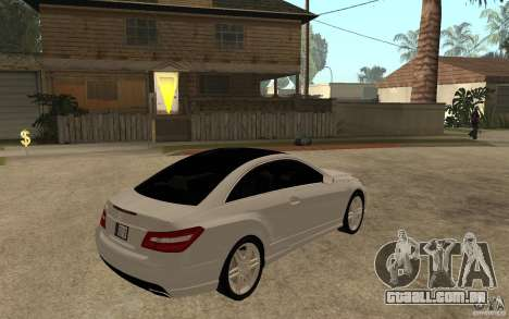 Mercedes Benz E-CLASS Coupe para GTA San Andreas vista direita
